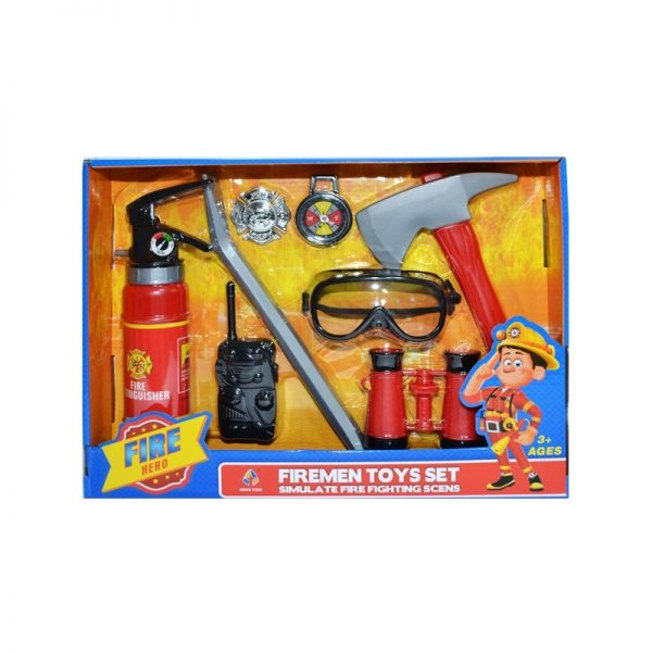 Play set pompieri