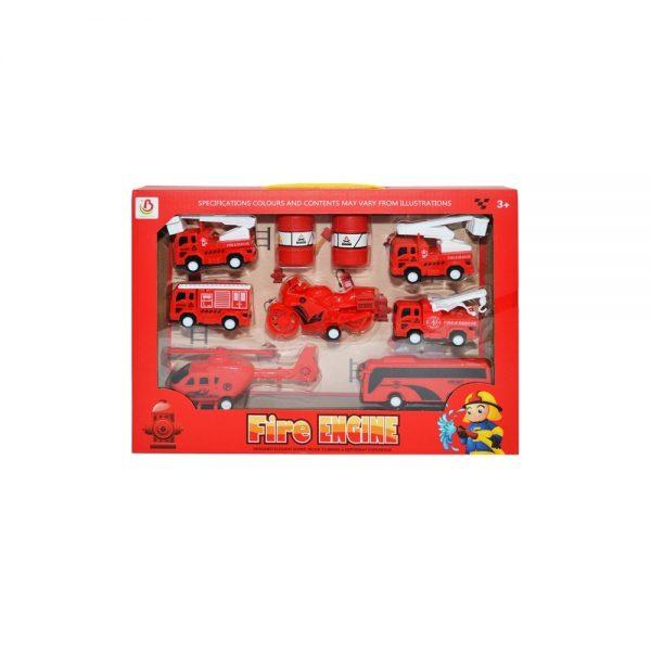 Play set pompieri - vehicule + containere