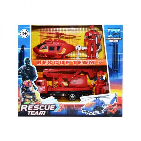 Play set pompieri - vehicule + figurine