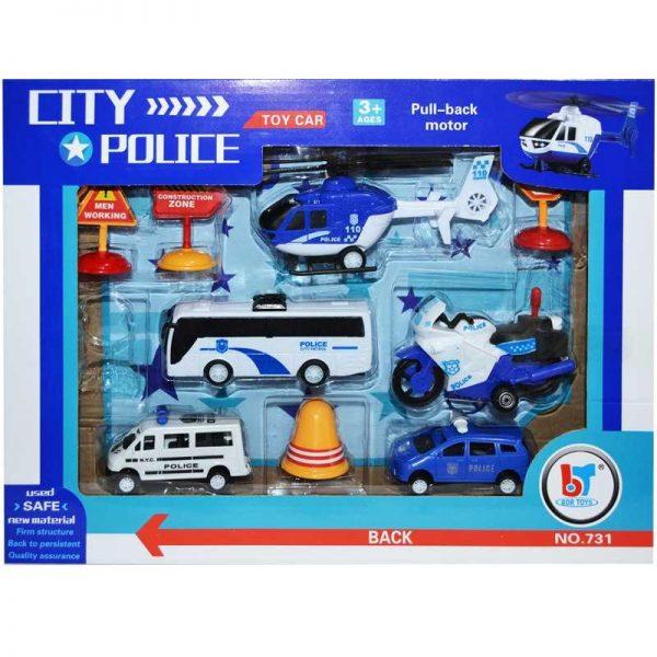 Play set - vehicule politie