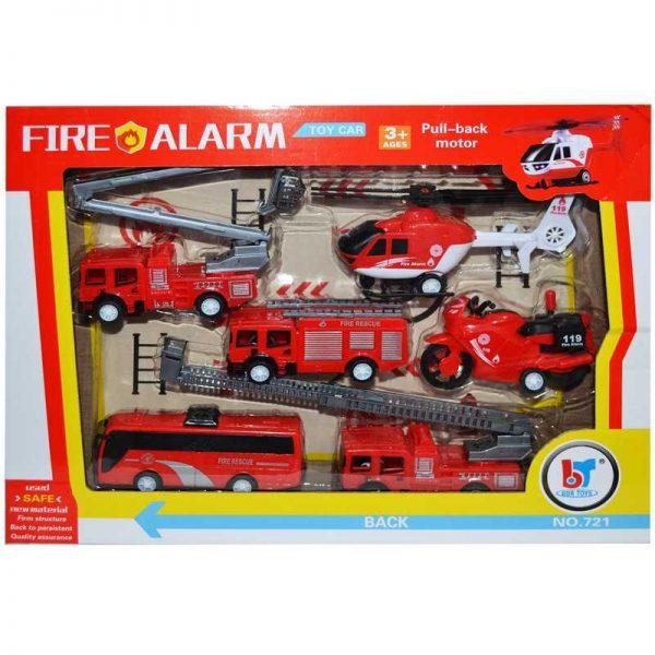 Play set - vehicule pompieri