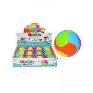 Pusculita minge colorata pentru bebe - Set 12