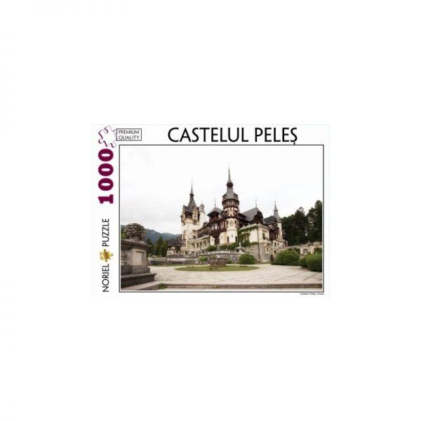 Puzzle 1000 piese Castelul Peles Orizontal