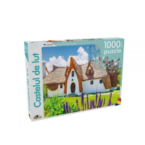 Puzzle 1000 piese Castelul de lut