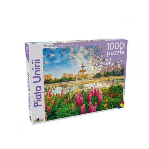 Puzzle 1000 piese Piata Unirii
