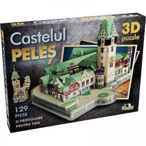 Puzzle 3D - Castelul Peles