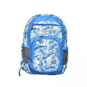 Rucsac Holic 44x30x20 cm suport de laptop motiv Blue Leaves