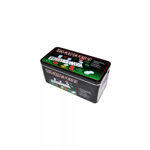 Set Poker plastic + metal + textil