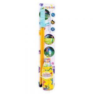 Set bagheta 50cm + solutie pentru baloane de sapun