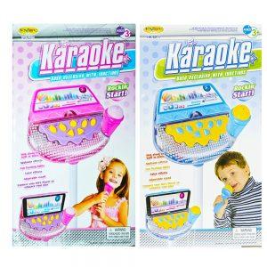 Set karaoke cu baterii