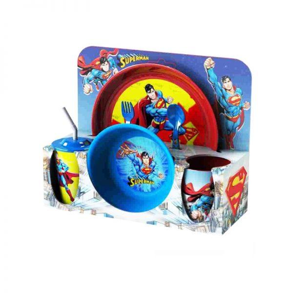 Set vesela+tacamuri Superman