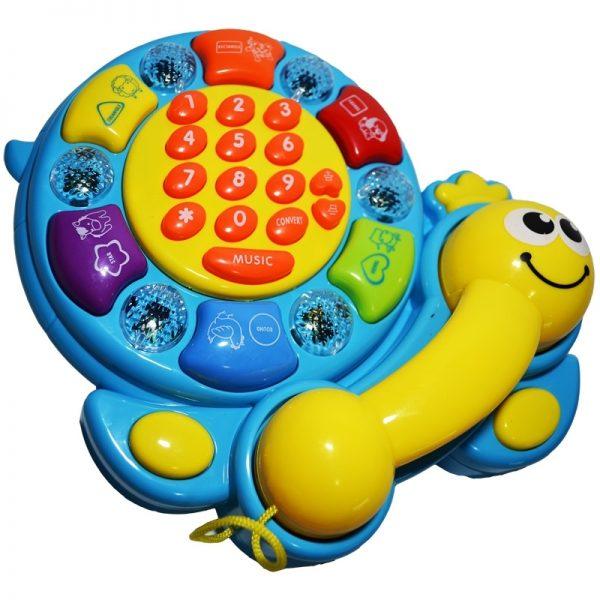 Telefon muzical pentru copii mici