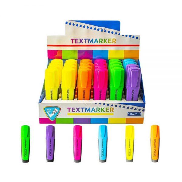 Textmarker 24 buc|display - NEBO