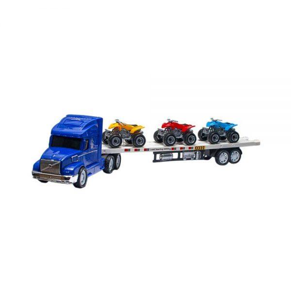 Tir cu 3 ATV -uri