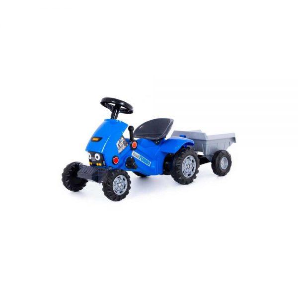 Tractor Turbo 2 cu pedale + remorca