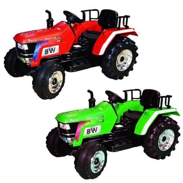 Tractor cu acumulator