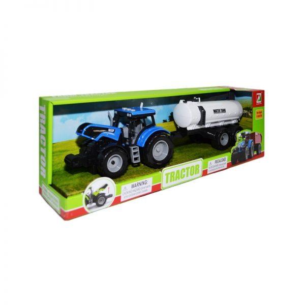 Tractor cu baterii + cisterna
