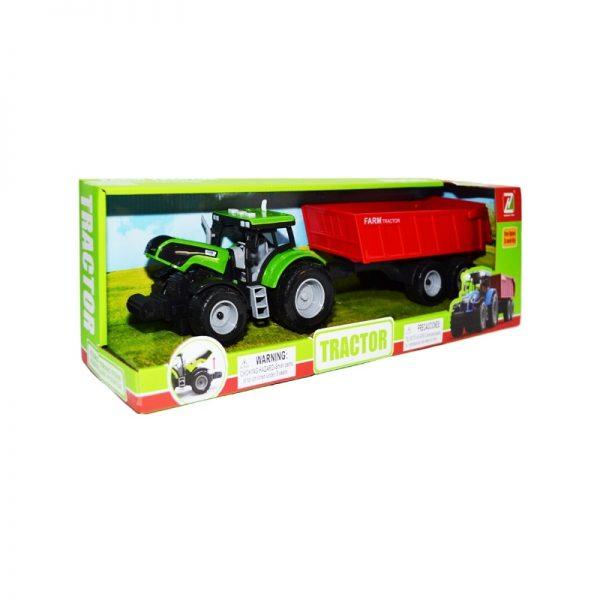 Tractor cu baterii + remorca