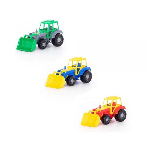 Tractor cu incarcator - Altay