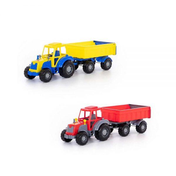 Tractor cu remorca - Altay