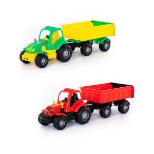 Tractor cu remorca - Hardy