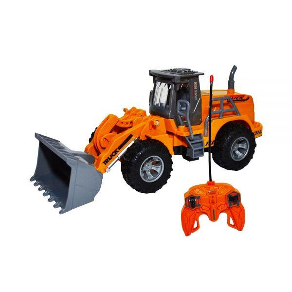 Tractor-incarcator cu RC