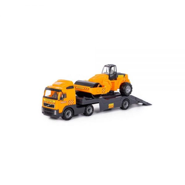 Trailer+cilindru asfalt - Volvo PowerTruck