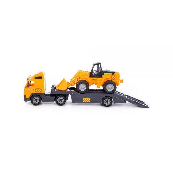 Trailer+excavator - Volvo PowerTruck