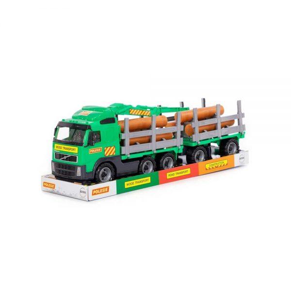 Trailer+remorca+lemne - Volvo PowerTruck