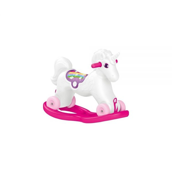 Unicorn balansoar cu rotile